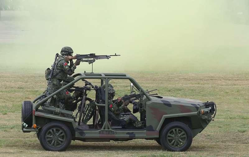 國內士兵實彈射擊演練不足,場地缺乏是一大原因。(林瑞慶攝)
