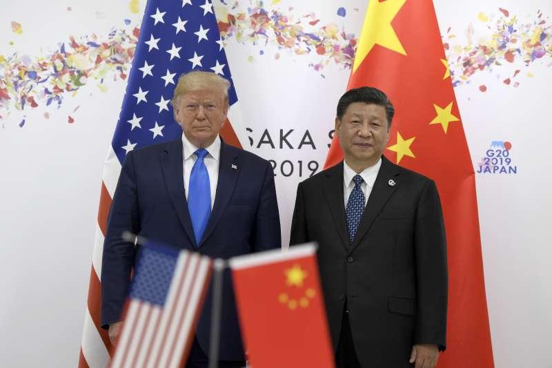 中美新冷戰:川普與習近平(美聯社)