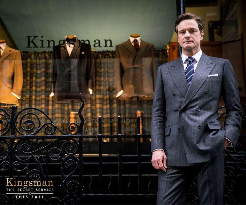 圖一、電影《金牌特務》中的西裝造型,在全球引起一陣討論熱潮。(圖取自Kingman 官方FB)