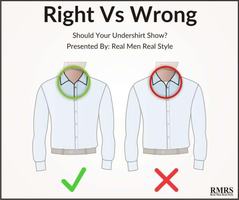 圖五、襯衫內通常會再搭一件內搭衣,避免露出才不會模糊焦點。(圖取自RMRS網站)