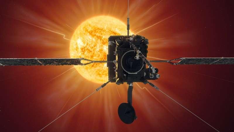 歐洲太空總署(ESA)16日公開有史以來最近距離拍攝的太陽照片。(圖取自facebook.com/EuropeanSpaceAgency)