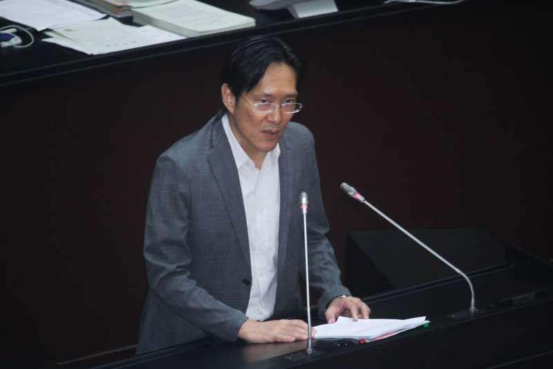 20200720-立院召開「國民參與刑事審判法草案」討論,立委張其祿進行發言。(蔡親傑攝)