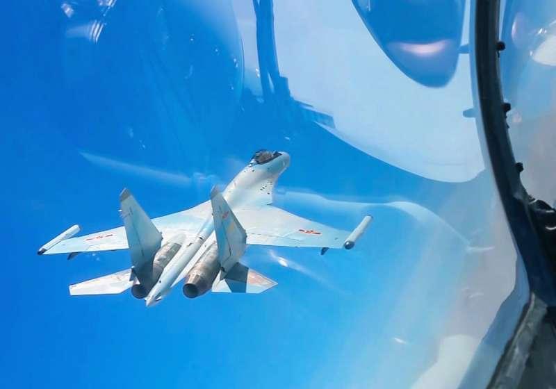 中國空軍無論是戰機或是飛行員水準,都有長足進步。(翻攝自中國軍網)