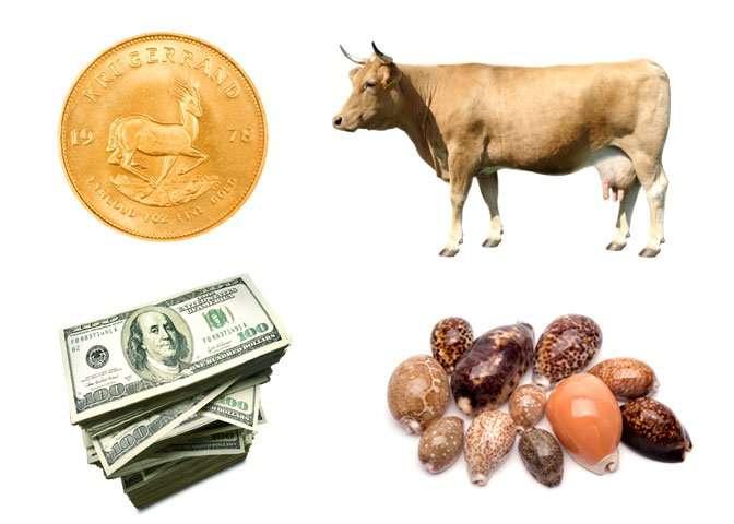 圖一、貨幣演變的歷史,從以物易物到紙張貨幣,始終扮演重要角色。(圖/Pbs)
