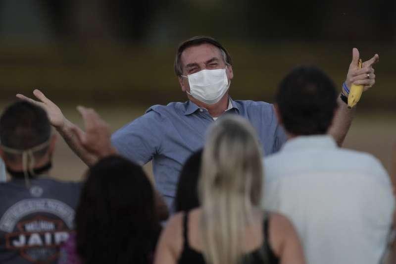 巴西世全球疫情第二慘的國家,2021年度盛事聖保羅嘉年華也延後舉行。(AP)