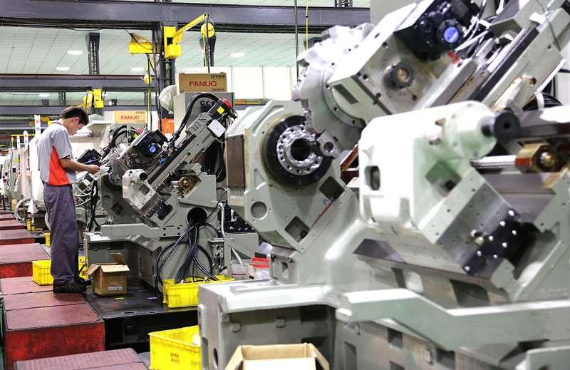 中國對台灣工具機產業早已恢復課稅。(新新聞資料照)