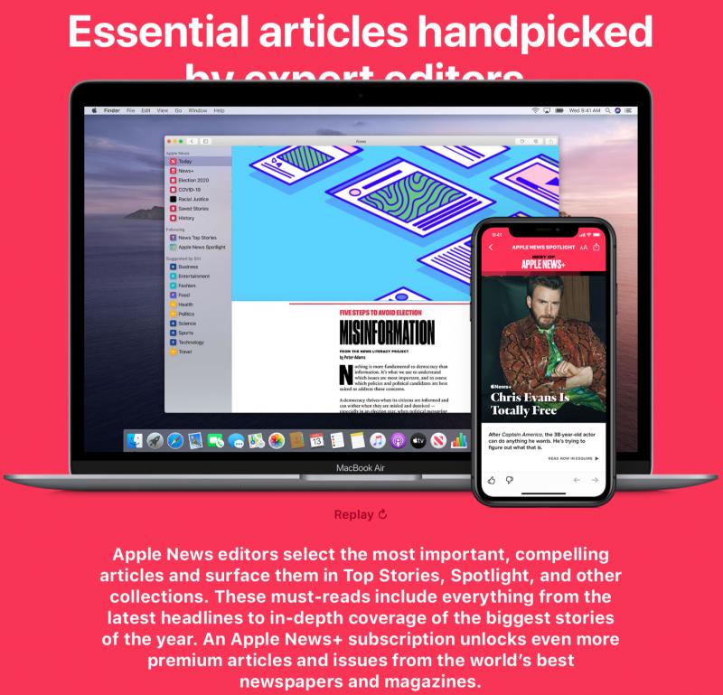 Apple News為蘋果自家推出的新聞服務,今年七月底更推出Podcast「Apple News Podcast」節目。(圖:flickr)