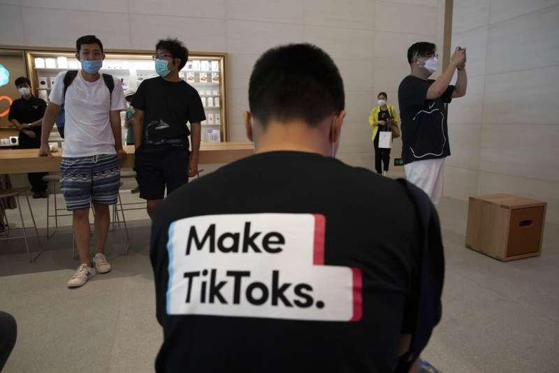 國際版抖音:Tiktok。(美聯社)