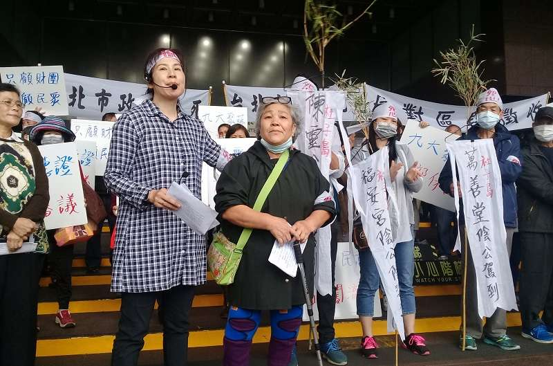 台北市士林區社子島開發案爭議不斷,都計學者提出連署,要求舉行聽證會,釐清全區區段徵收的公義性及必要性。(朱淑娟提供)
