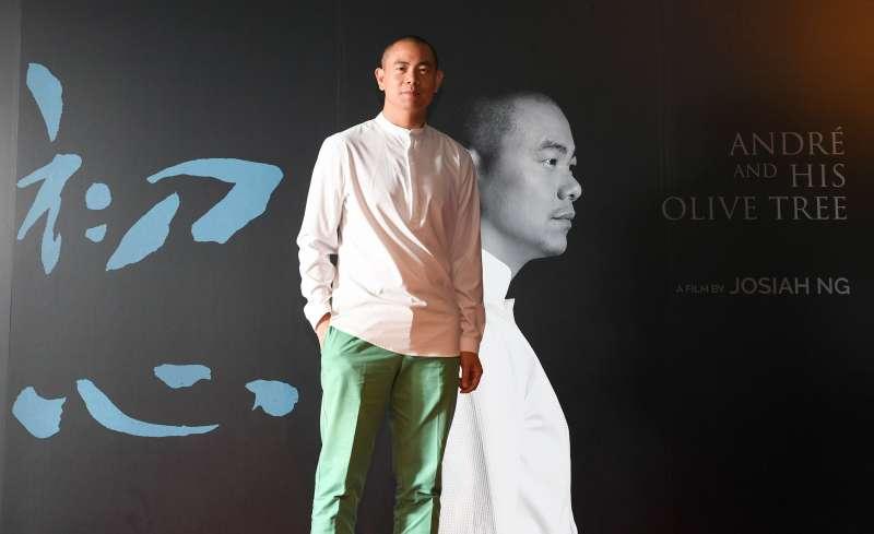 20200804-國際名廚江振誠出席紀錄片《初心》記者會。(牽猴子整合行銷提供)