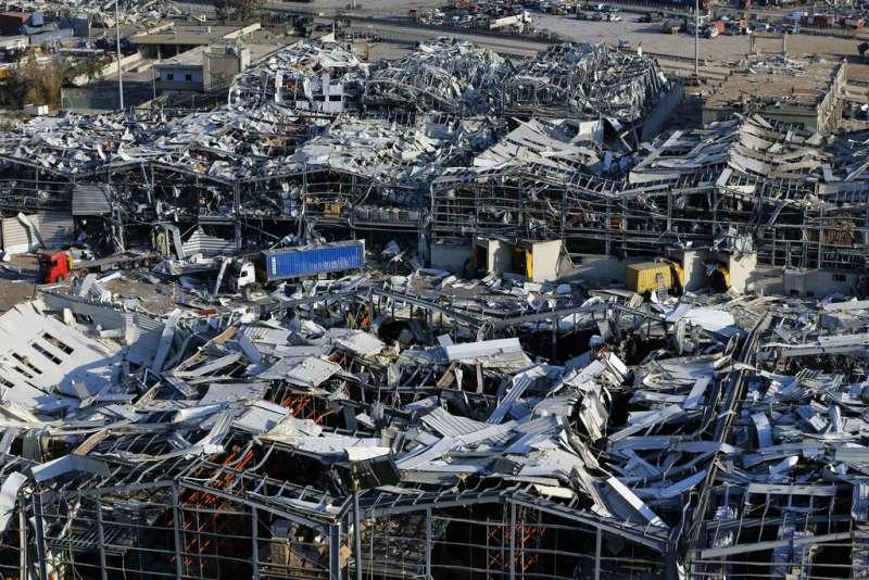 黎巴嫩首都貝魯特4日發生嚴重爆炸,造成至少78死、超過4千人受傷。(美聯社)