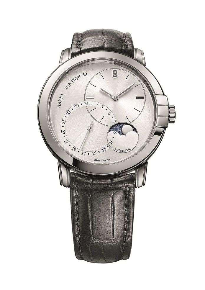 04靜夜Midnight系列月相功能42毫米自動腕錶。(圖/Taiwan Tatler)