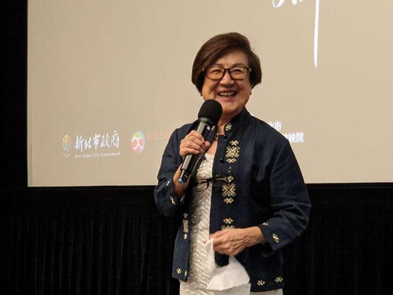 臺灣首位梅派傳人京劇表演藝術家徐露女士。(圖/新北市文化局提供)