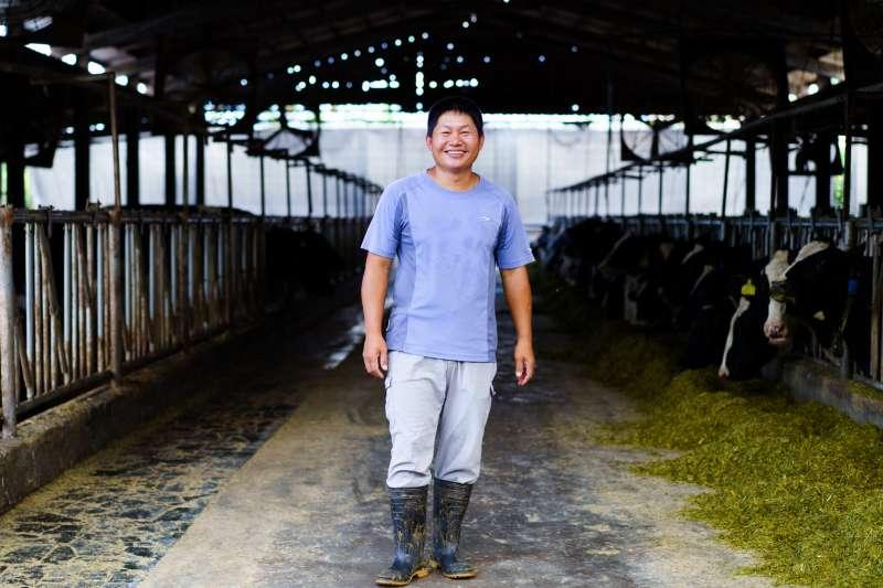 接手父親的牧場後,這裡早已變成廖皎邦的生活重心。(圖片來源:張家琪提供)(圖/食力foodNEXT提供)