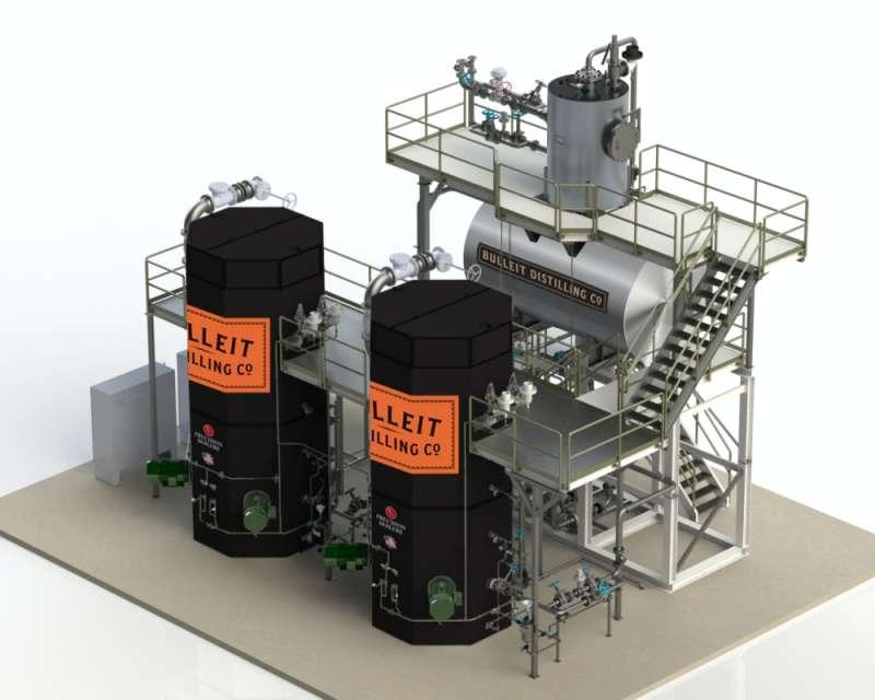 1帝亞吉歐位於美國肯塔基州的新釀酒廠將使用電極鍋爐,減少碳排放。(圖片來源:Diageo官方網站)
