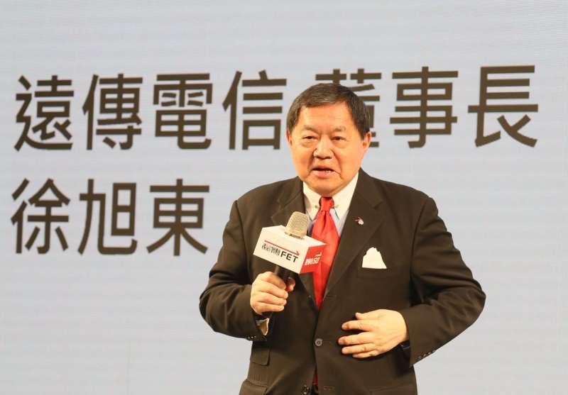 2002年徐旭東以十億元增資太流,成了SOGO新主人。(柯承惠攝)