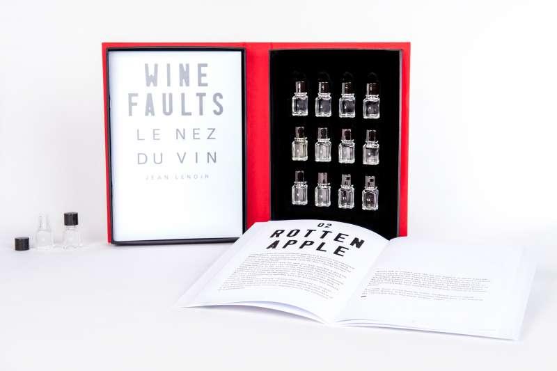 圖七 Le Nez du Vin酒鼻子還有推出過12種葡萄酒壞掉氣味的組合,讓人辨別壞掉的酒有哪些氣味。(圖/Edition Jean Lenoir)