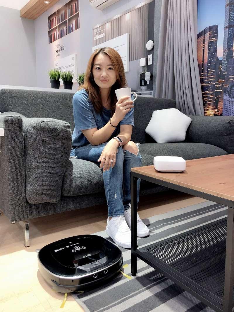 中華電信「i寶貝智慧聲控服務」再升級,串聯多品牌智慧家電,實現智慧家庭願景。(中華電信提供)
