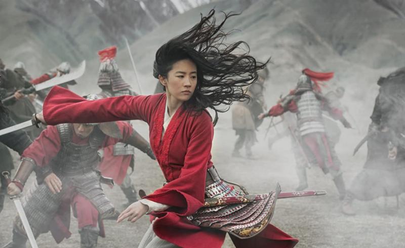 女中豪傑花木蘭(圖/取自IMDb)
