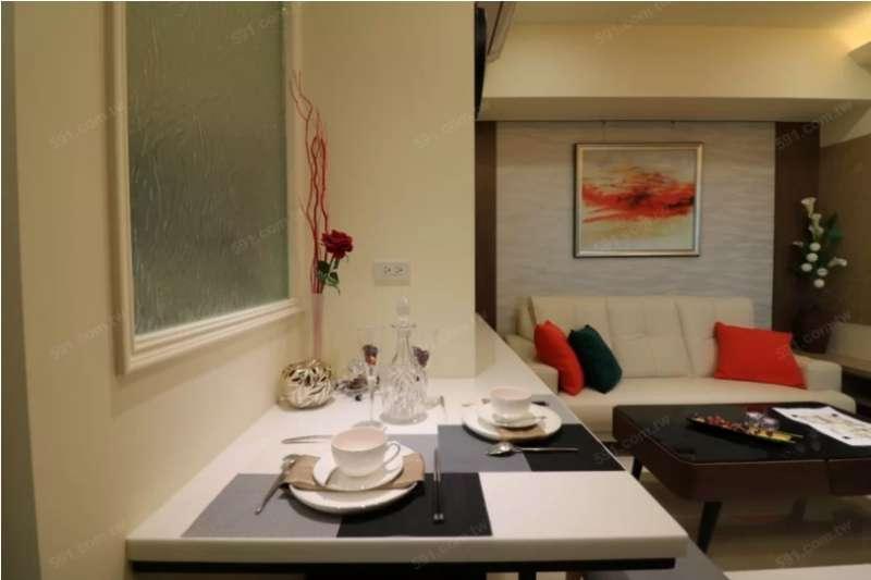 餐廳部分可以改成吧檯設計,節省空間。(圖/591提供)