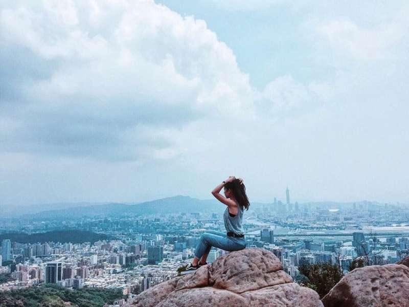 網美打卡山 &網美景點-金面山。(圖/攝影者:huiying801z授權提供, Instagram)