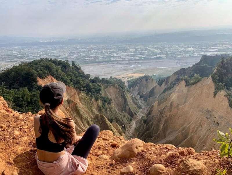 網美打卡山 &網美景點-火炎山。(圖/攝影者:miawang_0704授權提供, Instagram)
