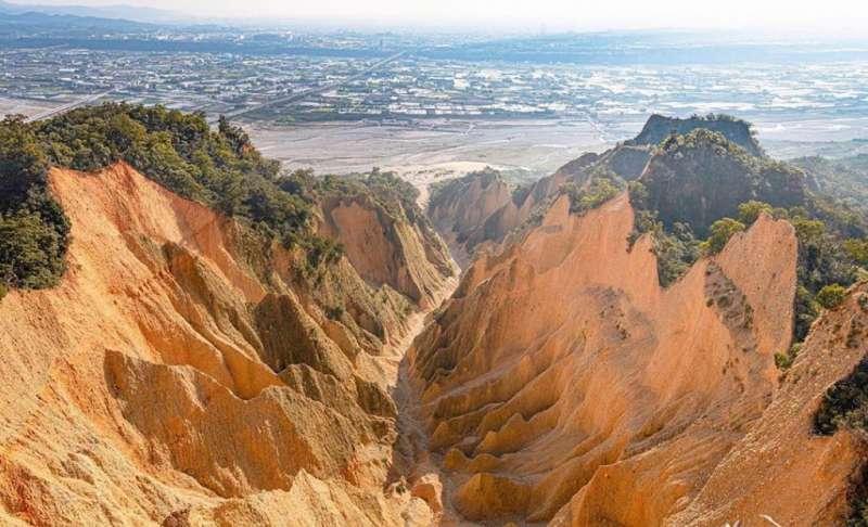 網美打卡山 &網美景點-火炎山。(圖/攝影者:xiang_718_授權提供, Instagram)