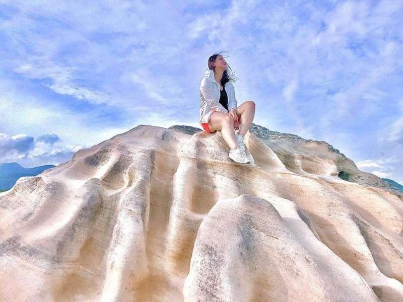 網美打卡山 &網美景點-軍艦岩。(圖/攝影者:debbie.cty授權提供, Instagram)