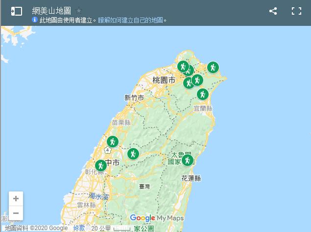 網美山地圖(圖/取自Tripbaa)