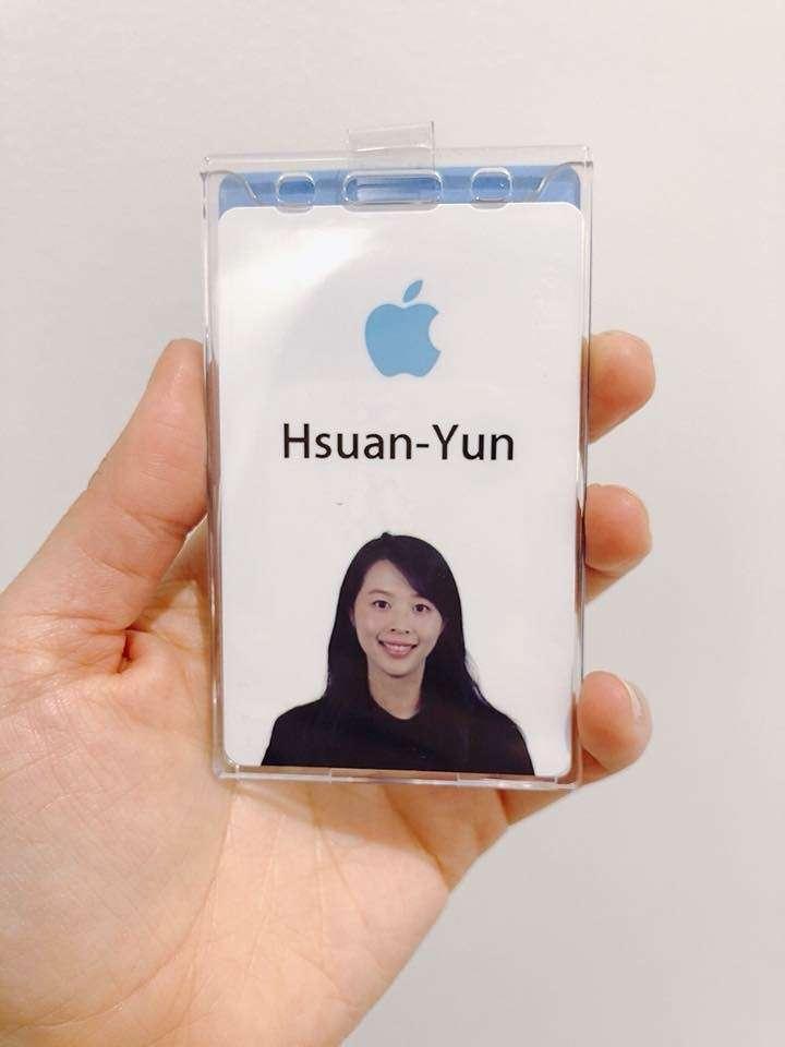 20200821-旅美設計師黃瑄云目前在蘋果總部Marcom部門擔任設計師。(黃瑄云提供)