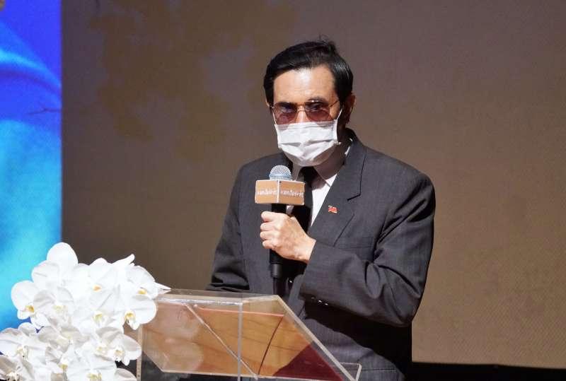 20200823-前總統馬英九23日出席郝柏村追思紀念會。(盧逸峰攝)