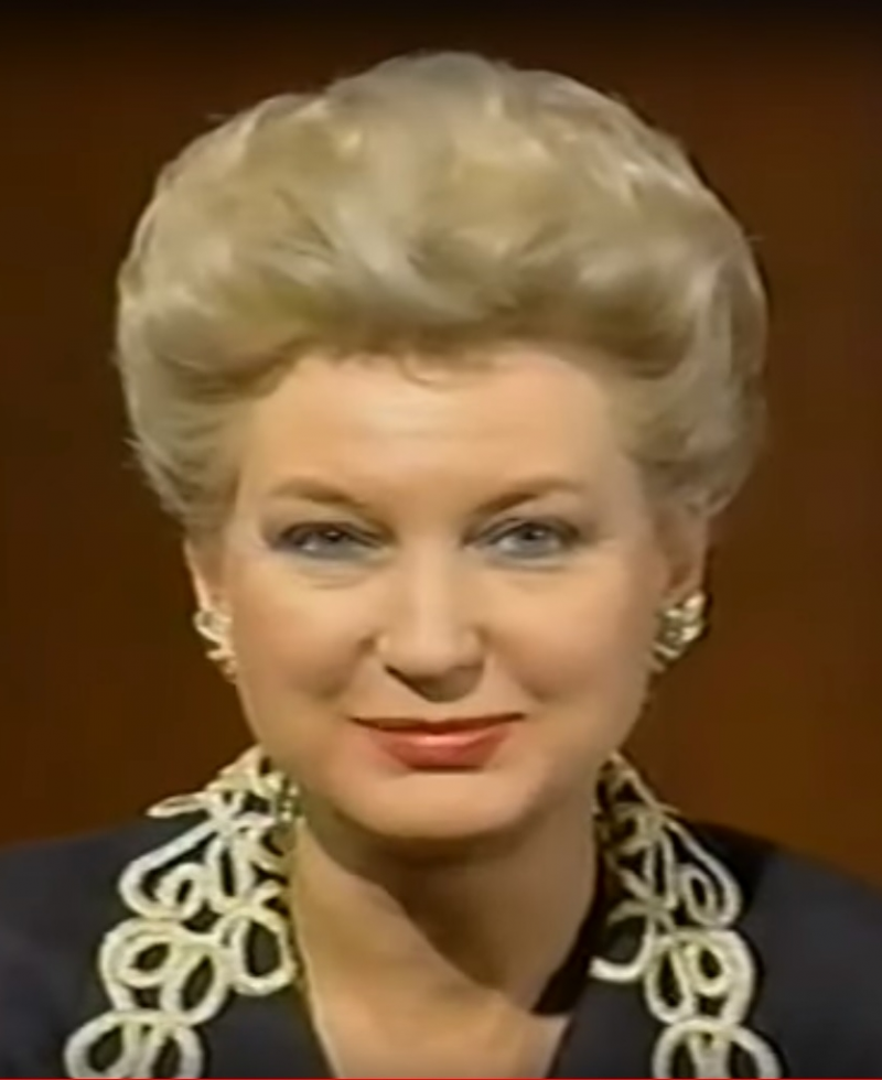 美國總統川普的大姊瑪麗安(Maryanne Trump Barry)(Wikipedia / Public Domain)