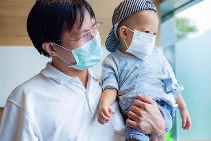 兒童口罩(圖/華人健康網提供)