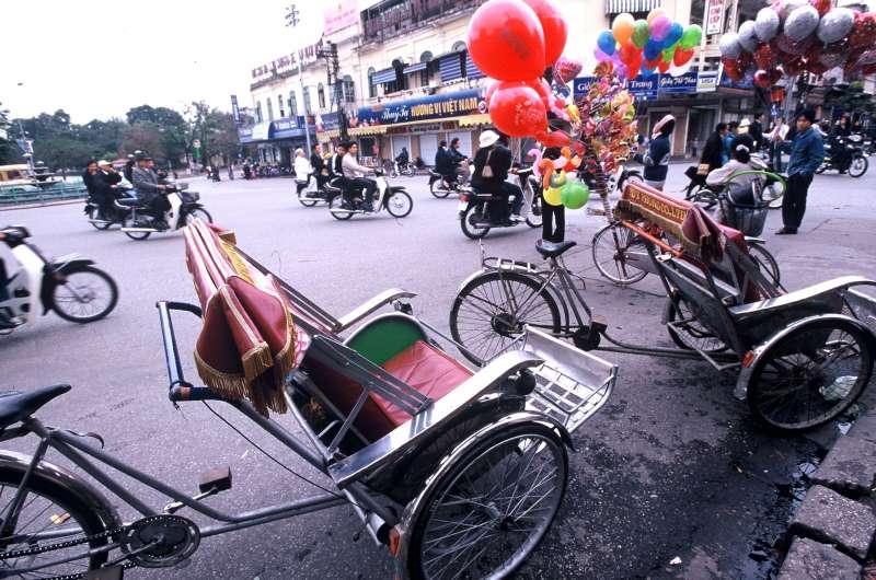 根據越南國家統計局資料顯示,7月零售消費成長比去年同期高出4.3,內需消費力道正在興起。(林瑞慶攝)