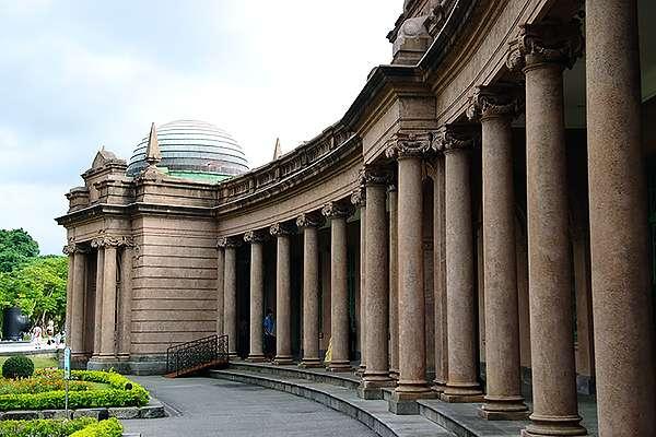 台北水道水源地唧筒室,外觀十分典雅美麗,而未來巴爾頓的銅像將重現此地。(圖/想想論壇提供)