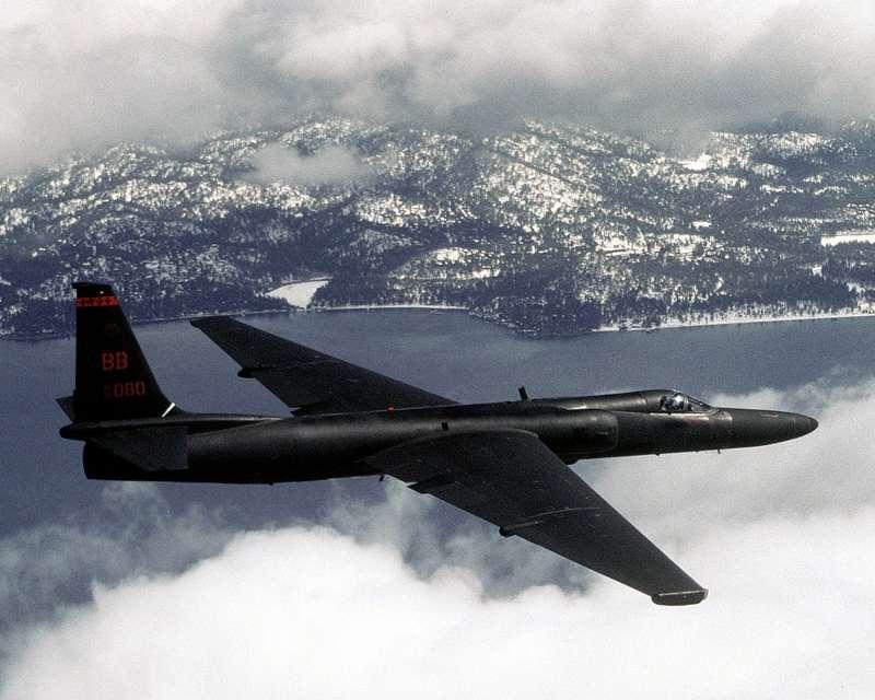 服役超過半世紀的U-2偵察機,近日闖進解放軍演習劃定的禁飛禁航區,惹來北京不滿。(維基百科/公用領域)