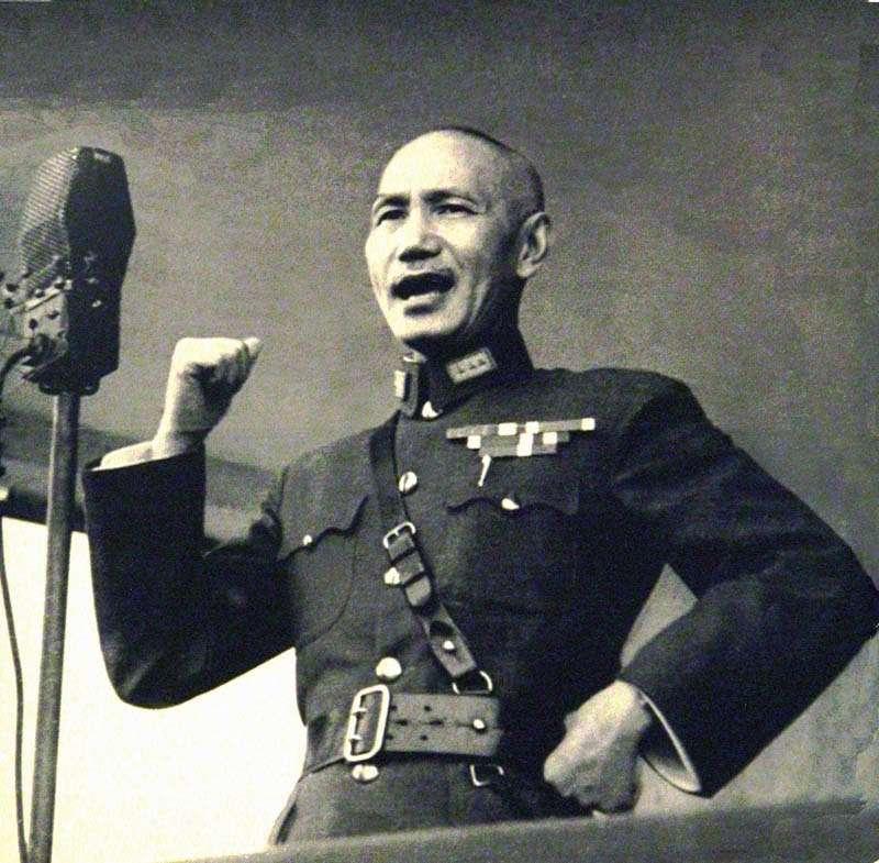 蔣介石。(圖/維基百科)