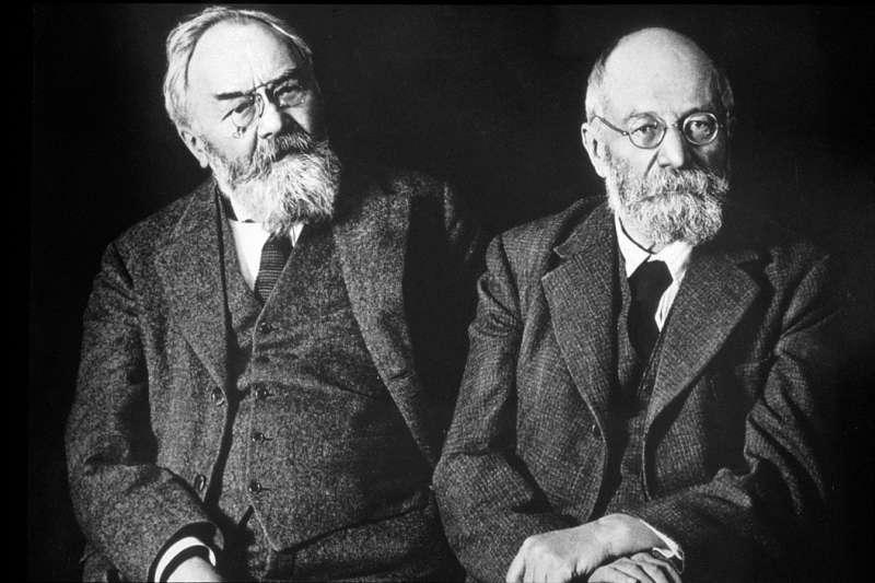 圖一、米其林輪胎創辦人安德烈.米其林(André Michelin)和愛德華.米其林(Édouard Michelin)。(圖/Workings)