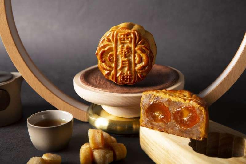 3台北西華飯店純手工廣式月餅禮盒。(圖/Taiwan Tatler)