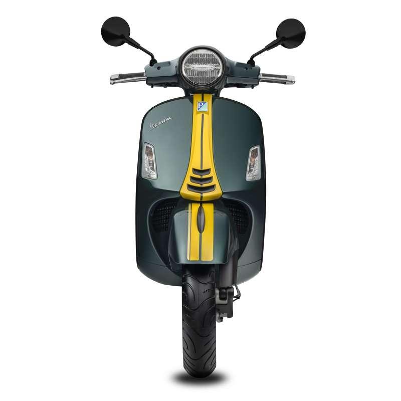 300cc四衝程單汽缸、四行程及水冷電子噴射引擎,大幅提升引擎性能,同時減少燃油消耗。(圖/Vespa提供)