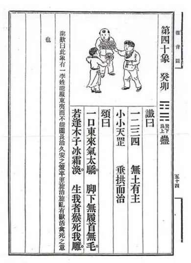 《推背圖》第四十象山風蠱。(劉君祖提供)