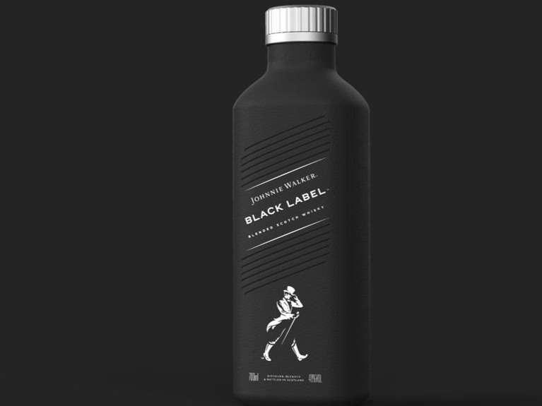 1約翰走路與Pulpex聯手,推出世界首創的百分之百零塑膠酒瓶。(圖/食力提供)