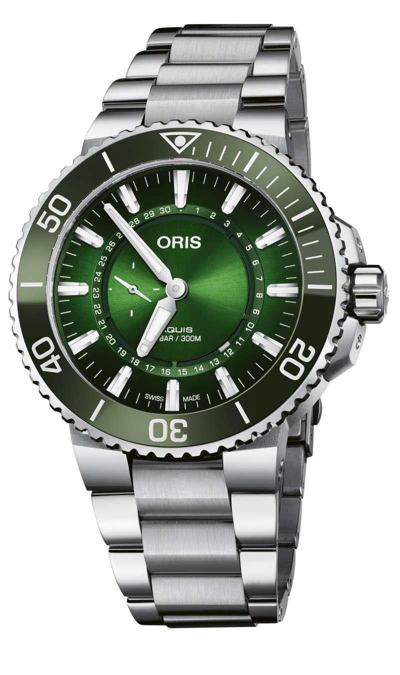 Oris 漢江限量腕錶。(圖/Oris提供)
