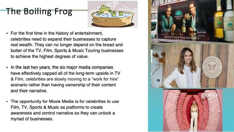 Moxie Media 募資簡報。(圖片來源:截自網路)