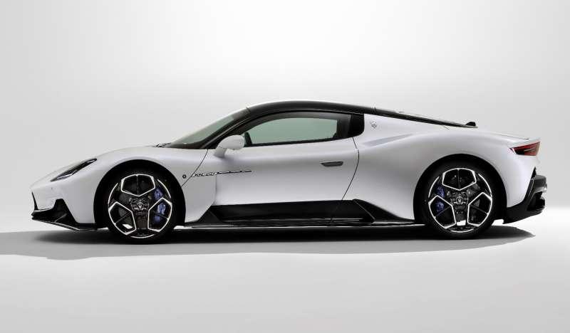 Maserati 全新世代超跑 MC20 外裝(圖 / Maserati Taiwan 提供)
