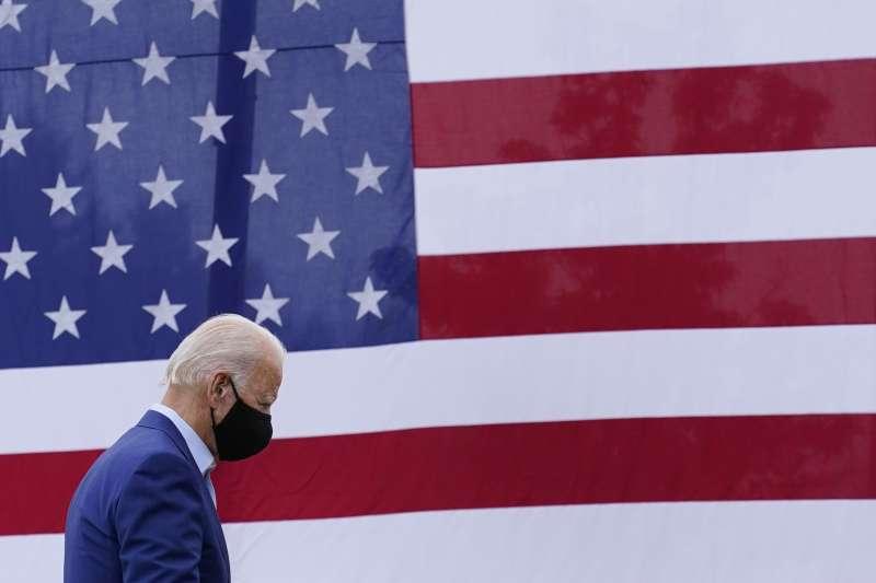美國民主黨總統候選人拜登(AP)