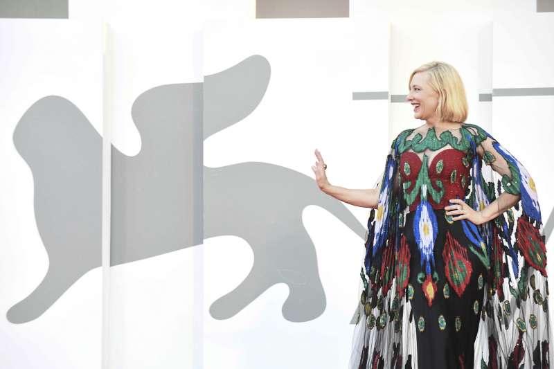 第77屆威尼斯影展評審團主席凱特布蘭琪(Cate Blanchett )。(AP)