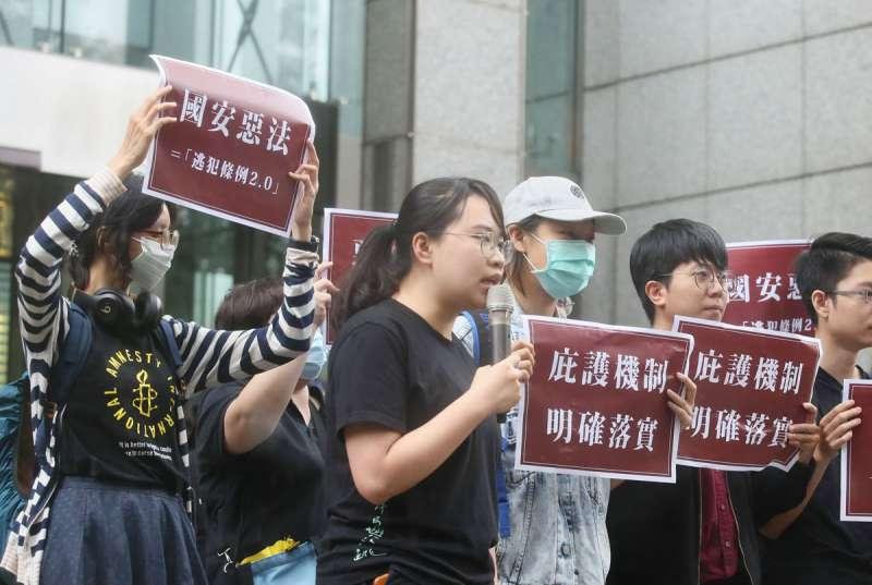 當香港陷入「鐵幕」,台灣成為第一線「自由燈塔」,在新的對抗格局下,台灣需要一套新的香港對策。(柯承惠攝)