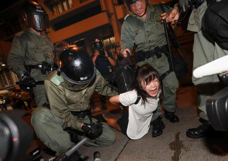 20200916-「台灣新聞攝影大賽得獎作品展」23日將於中華文化總會開展,其中文總特別規劃了香港主題區。(台灣新聞攝影協會提供)