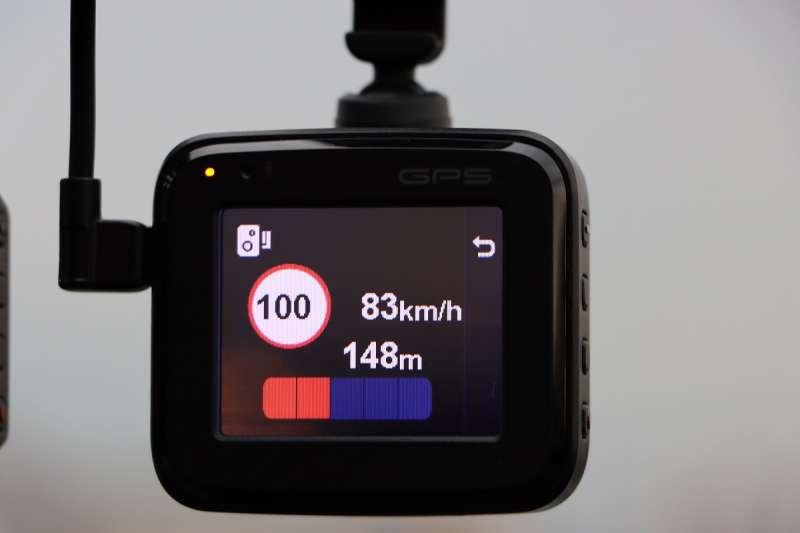 選購大品牌行車記錄器可確保圖資更新無虞,測速提醒才能保持準確性。(圖/車訊網)
